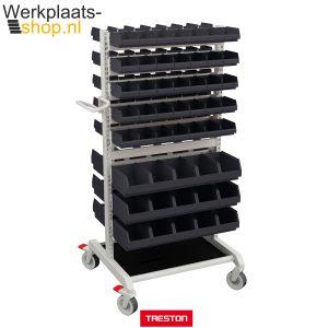 Koop de Treston basic trolley combinatie 1 met bakken bij werkplaats-shop.nl