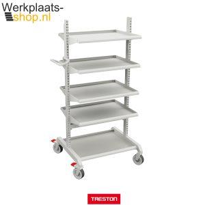 Koop de Treston combinatie 3 met legborden bij werkplaats-shop.nl