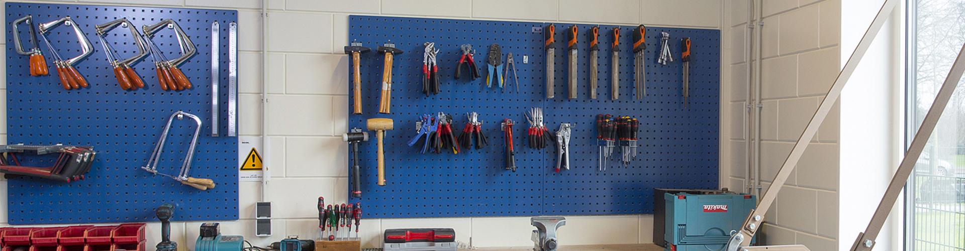 Werkplaats-shop.nl gereedschapsbord met ophanghaken