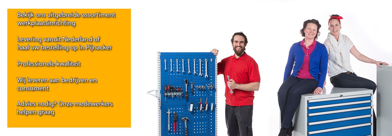 Werkplaats-shop.nl professionele kwaliteit werkplaatsinrichting voor bedrijven zzp en consument