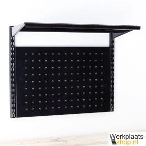 Sovella at home wandrek zwart met geperforeerd bord en legbord