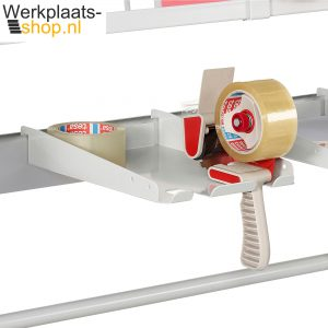 Werkplaats-shop.nl Treston Taperolhouder ASSA4 voor aan bakkenstrip op een inpaktafel